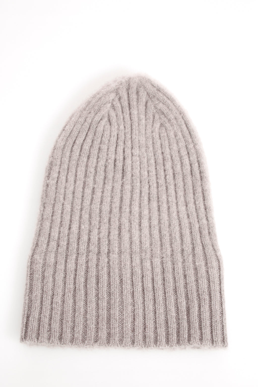 ace30dfc698 Drake s Grey Ribbed Merino Wool Hat – LALONDE s