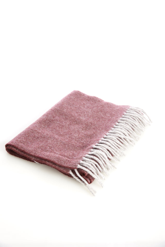 Eton Red Wool Scarf - Accessories - Eton - LALONDE's