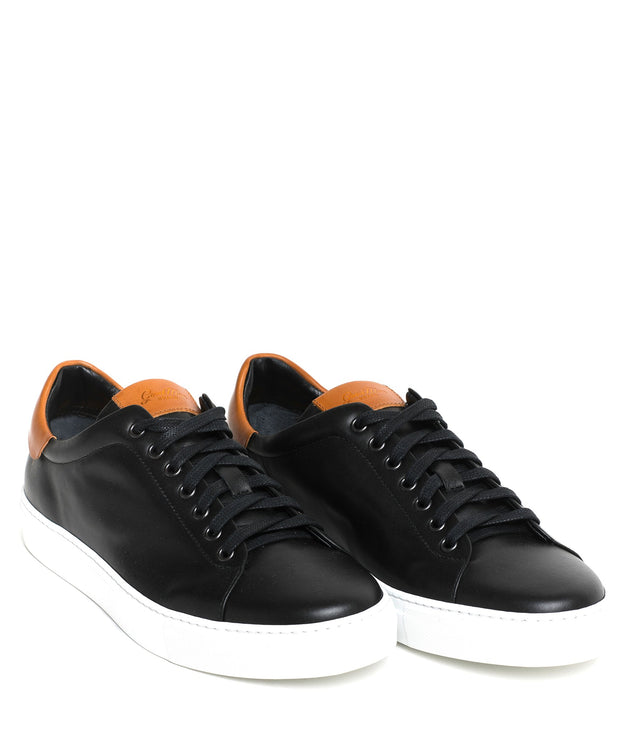 Goodman Brand Black Legend Low-Top Leather Sneaker - Shoes - Goodman Brand - LALONDE's