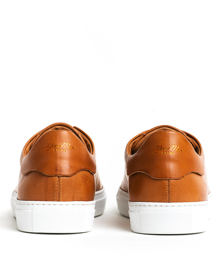 Goodman Brand Cognac Legend Low-Top Leather Sneaker - Shoes - Goodman Brand - LALONDE's
