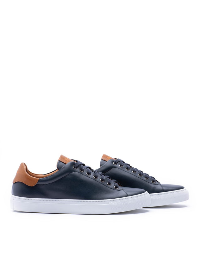 Goodman Brand Navy Legend Low-Top Leather Sneaker - Shoes - Goodman Brand - LALONDE's