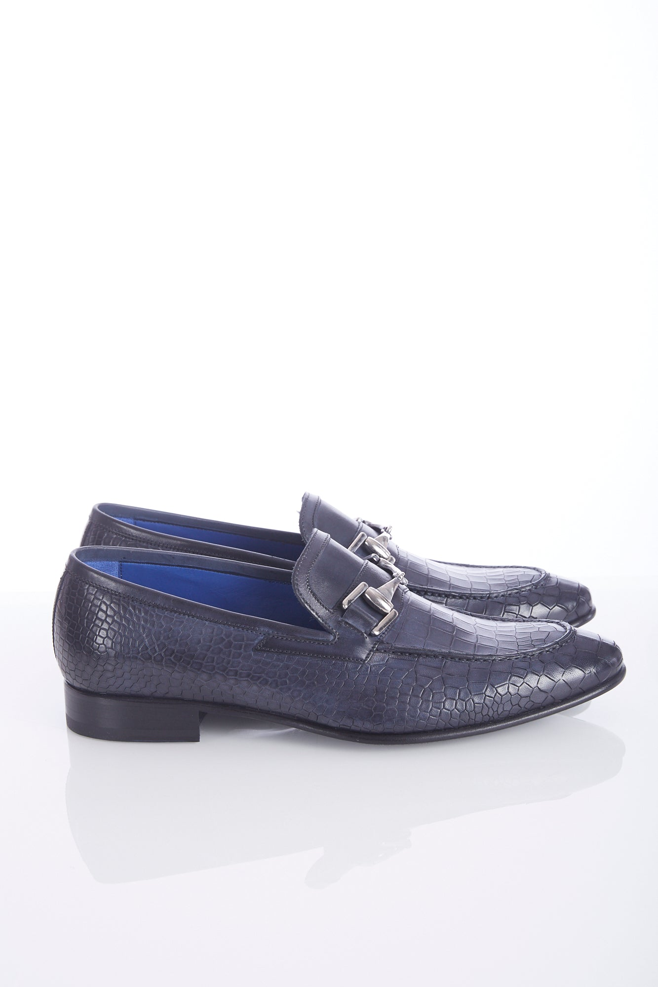 Giulio Moretti Alligator Print Leather Loafer - Shoes - Giulio Moretti - LALONDE's
