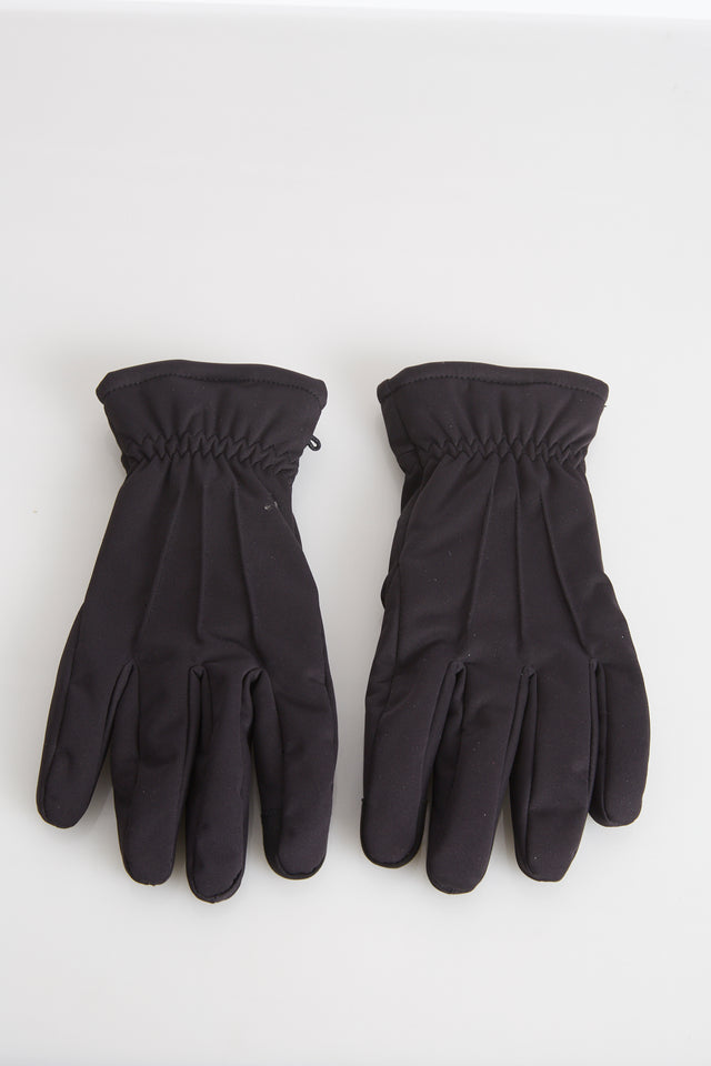 Hestra Black Touchscreen Duncan Nylon Gloves - Accessories - Hestra - LALONDE's