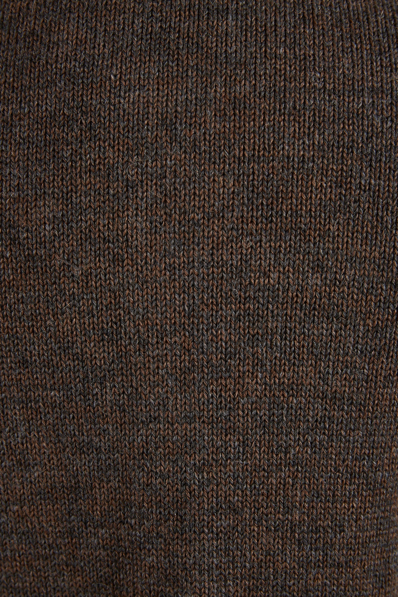 Inis Meáin Brown Wool-Alpaca Shirt Jacket Sweater - Sweaters - Inis Meáin - LALONDE's