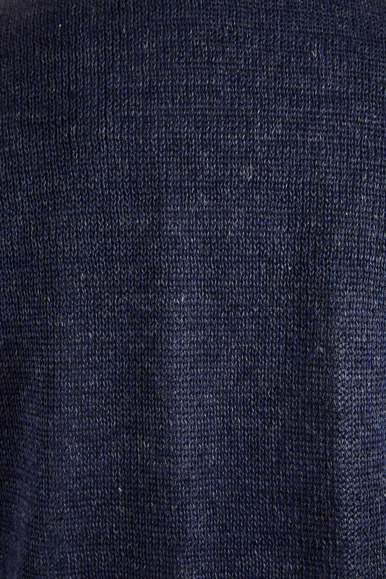Inis Meáin Purple Linen Seal Sweater Jacket - Sweaters - Inis Meáin - LALONDE's