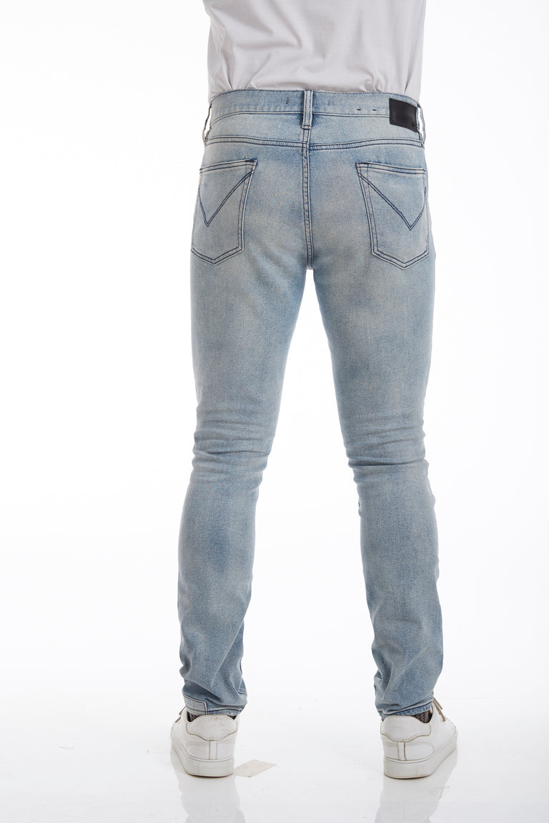 John Varvatos Smith Washed Denim Jeans