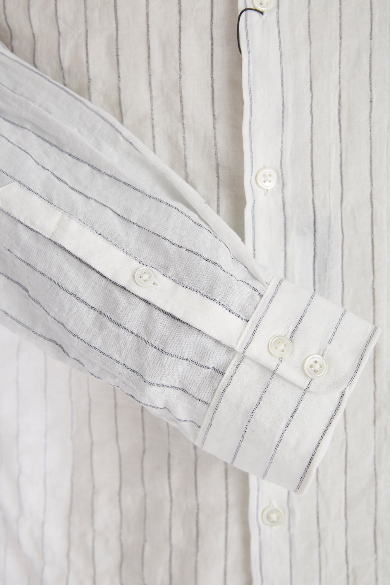 John Varvatos Striped Stand Collar Shirt - Shirts - John Varvatos - LALONDE's