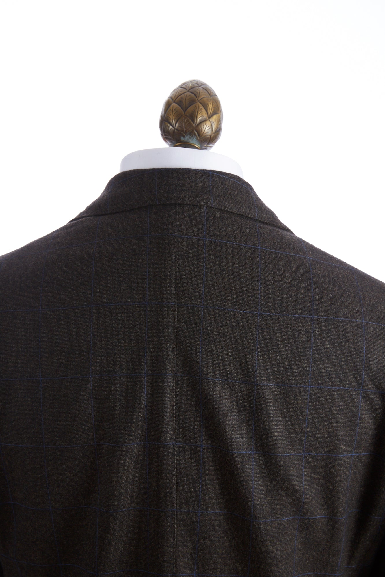 L.B.M. 1911 Brown with Blue Check Wool Jacket - Sport Jackets - L.B.M. 1911 - LALONDE's