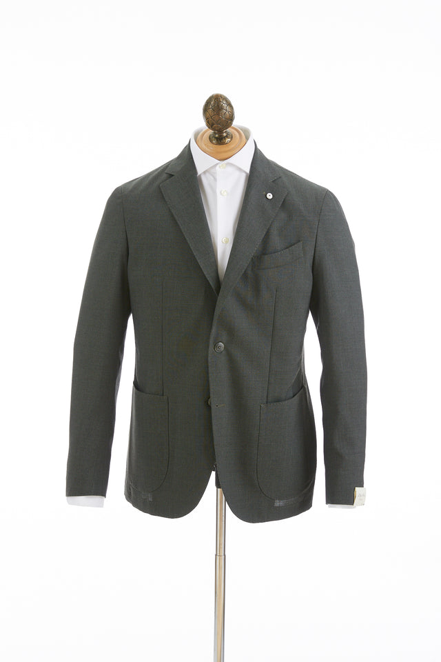 L.B.M. 1911 Green Wool Sport Jacket