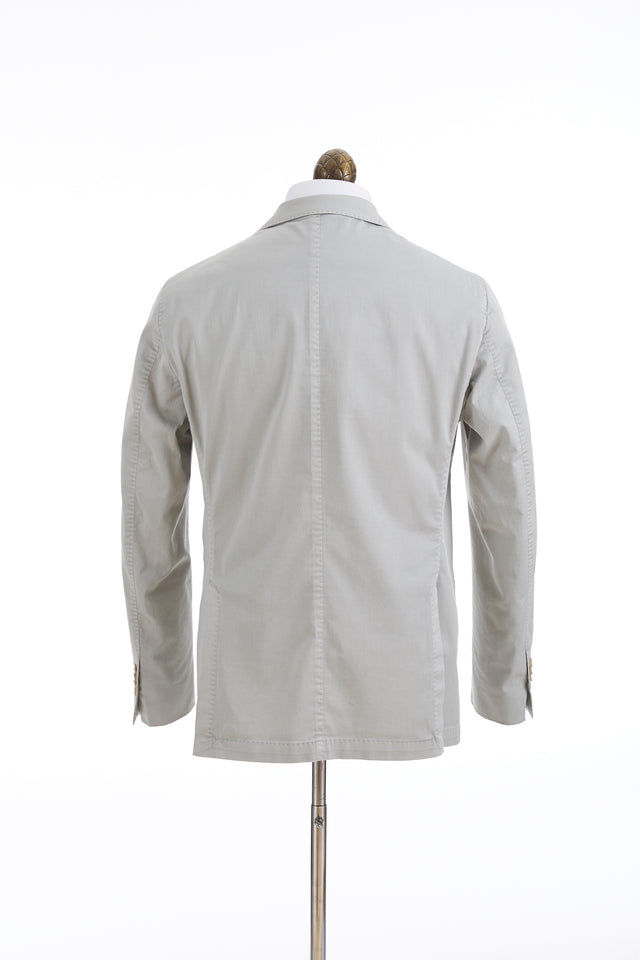 L.B.M. 1911 Light Grey Stone Cotton Sport Jacket