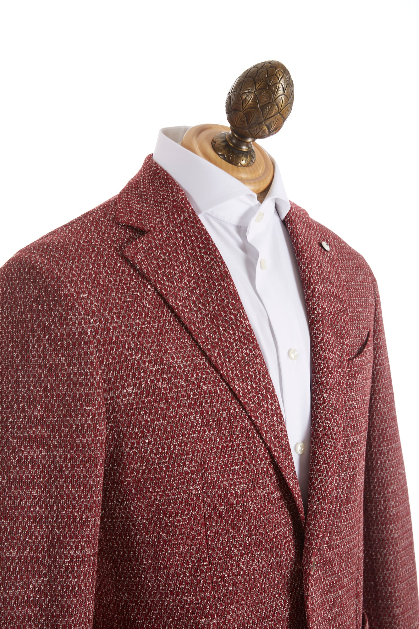 L.B.M. 1911 Red Marled Stretch Sport Jacket - Sport Jackets - L.B.M. 1911 - LALONDE's
