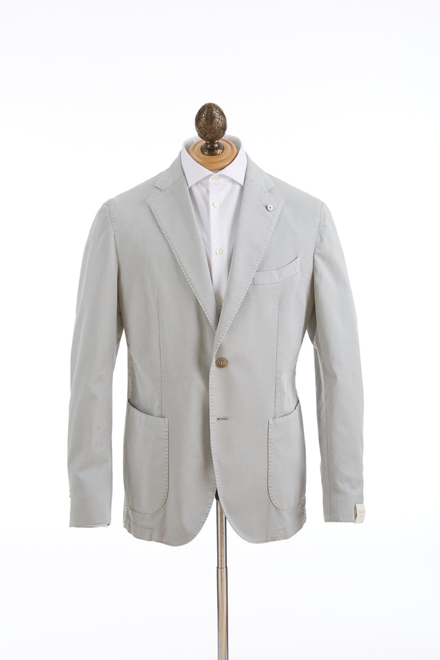 L.B.M. 1911 Stone Cotton Sport Jacket