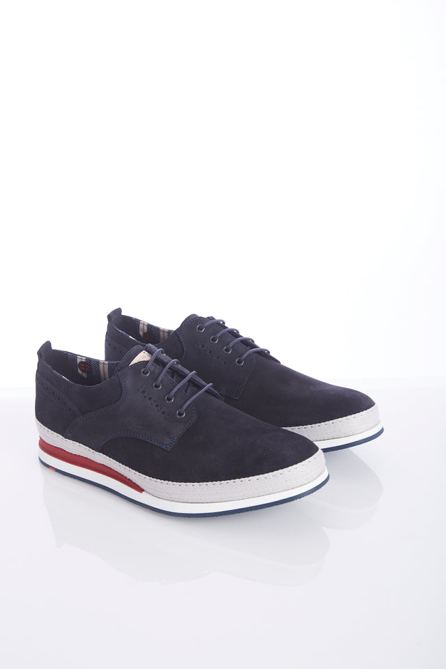 Lloyd 'Dale' Navy Suede Sneaker Shoe - Shoes - Lloyd - LALONDE's