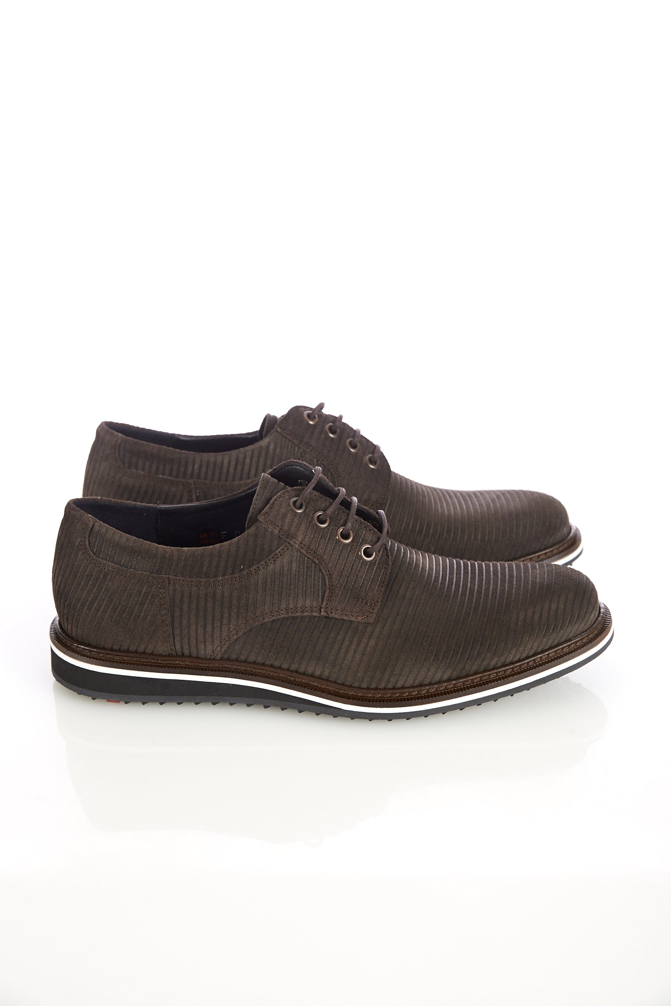 Lloyd 'Frederic' Brown Suede Cord Shoe - Shoes - Lloyd - LALONDE's