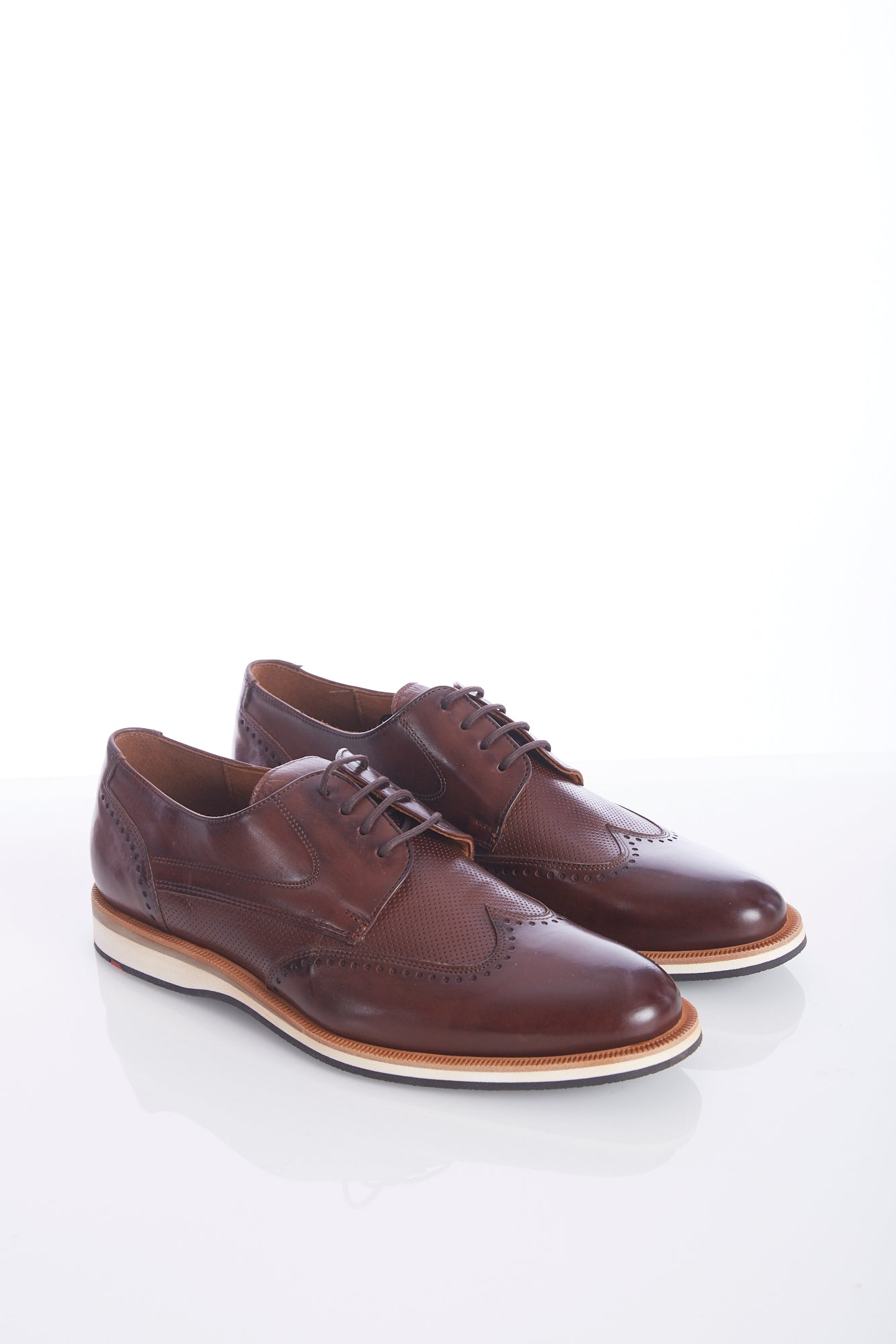 Lloyd 'Odil' Chestnut Brown Wingtip Shoes