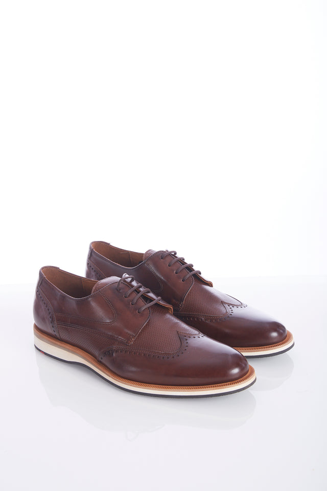 Lloyd 'Odil' Chestnut Brown Wingtip Shoes - Shoes - Lloyd - LALONDE's