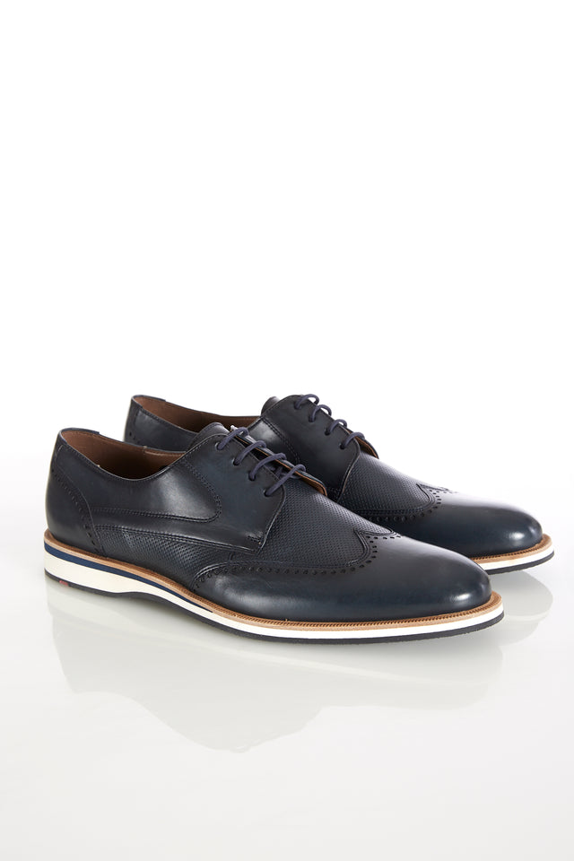 Lloyd 'Odil' Midnight Navy Wingtip Shoes - Shoes - Lloyd - LALONDE's
