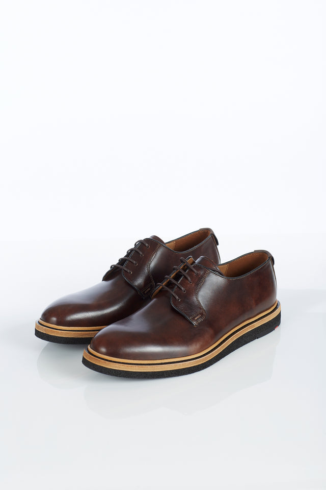 Lloyd Shoes 'Jannes' Macchiato Calf Derby Front