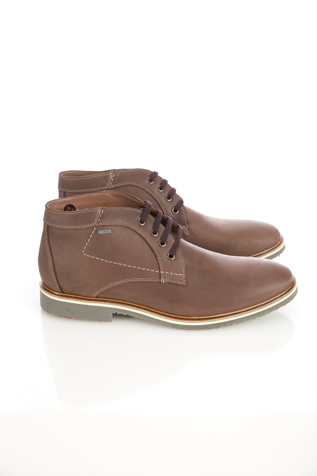 Lloyd 'Vallett' Brown Leather Gore-Tex Chukka Boot - Shoes - Lloyd - LALONDE's