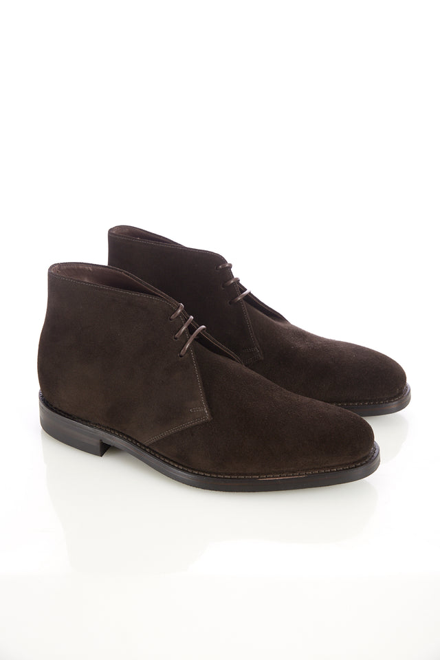 Loake 1880 Pimlico Brown Suede Chukka Boot - Shoes - Loake - LALONDE's