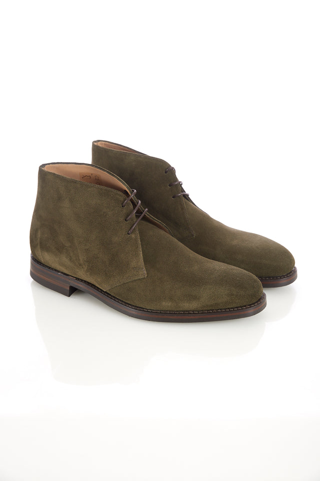 Loake 1880 Pimlico Green Suede Chukka Boot - Shoes - Loake - LALONDE's