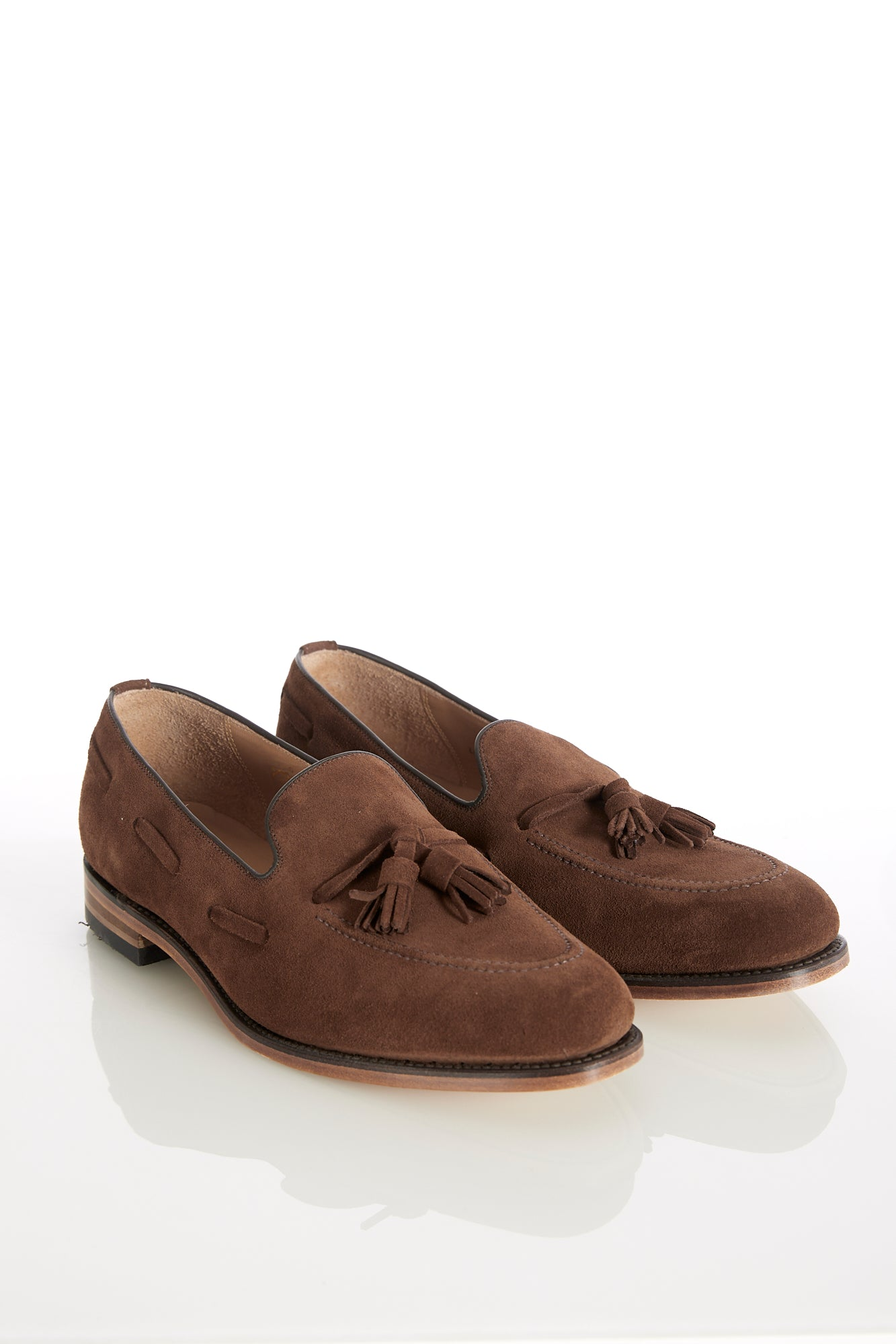 Loake 'Lincoln' Fox Suede Tassel Loafer