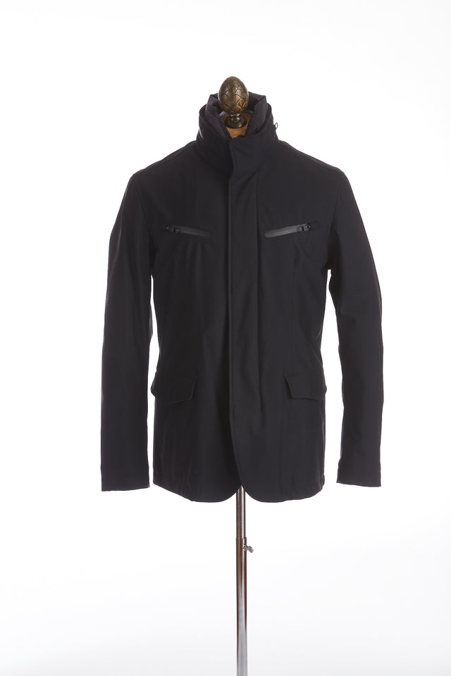 Montecore Navy Technical Short Jacket