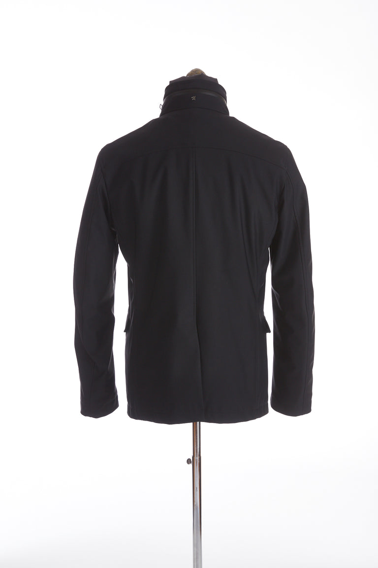 Montecore Navy Technical Short Jacket Back