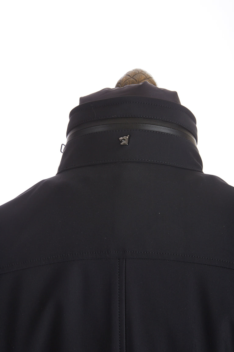 Montecore Navy Technical Stroller Jacket Collar