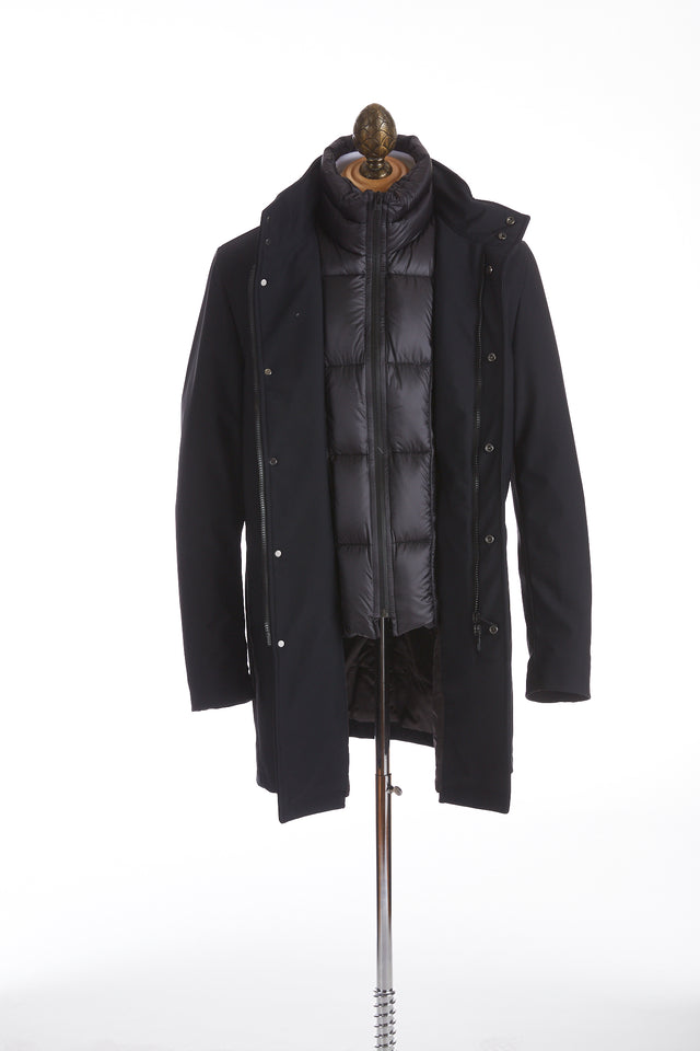 Montecore Navy Technical Topcoat