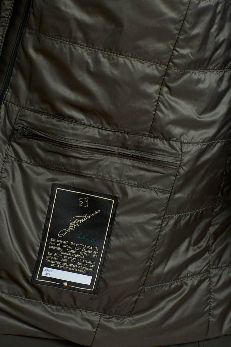 Montecore Olive Green Technical Car Coat - Outerwear - Montecore - LALONDE's