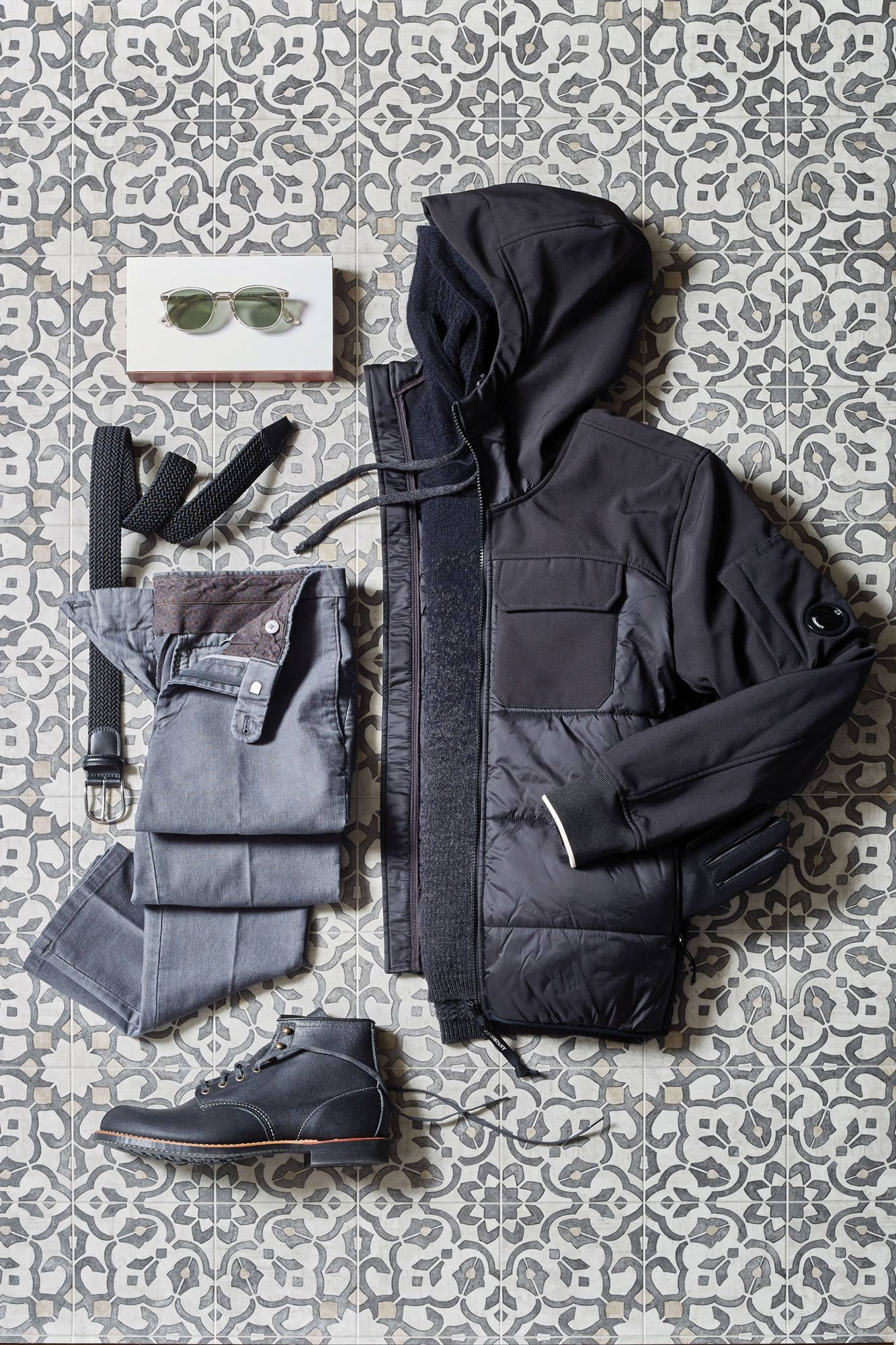 C.P. Company Down Core Nylon Jacket