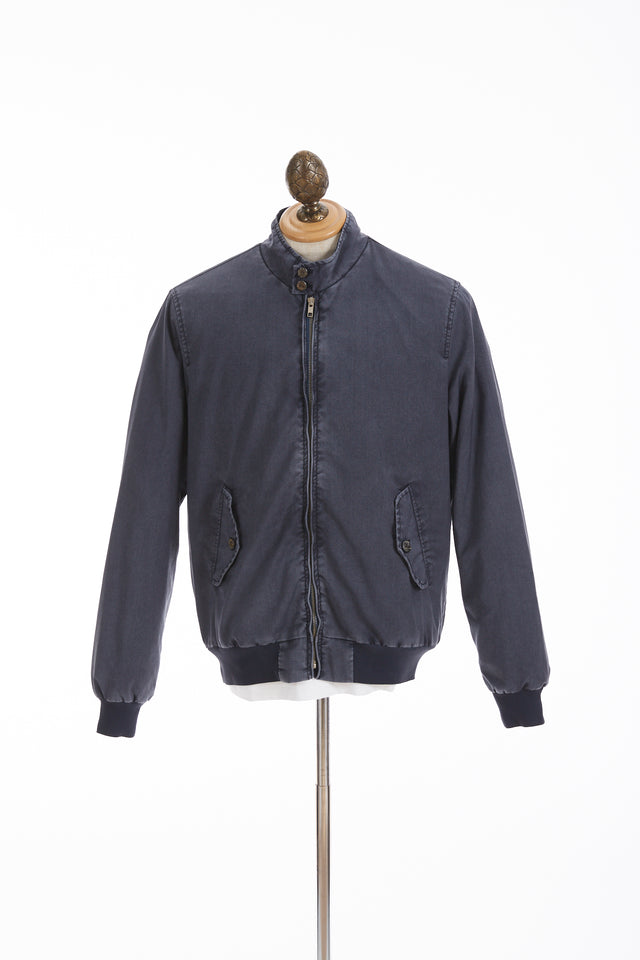 Myths Navy Washed Wool Bomber