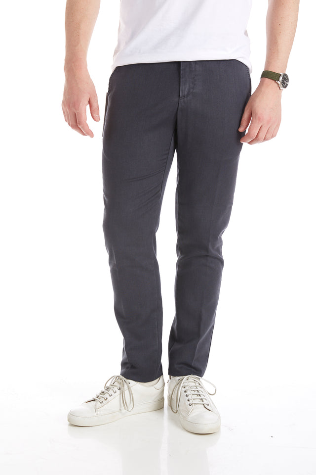 Myths Washed Navy Wool Dress Pants - Pants - Myths - LALONDE's