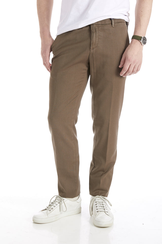 Myths Washed Tan Wool Dress Pants - Pants - Myths - LALONDE's