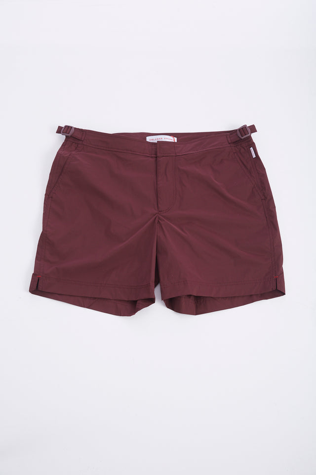 Orlebar Brown 'Bulldog' Burgundy Swim Shorts - Swim Shorts - Orlebar Brown - LALONDE's