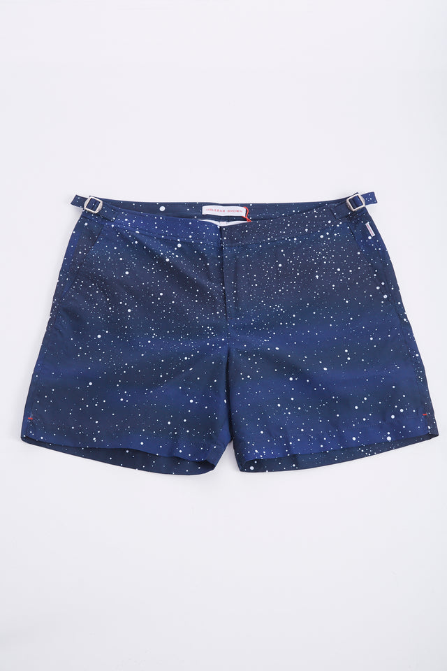 Orlebar Brown 'Bulldog' Navy Constellation Swim Shorts