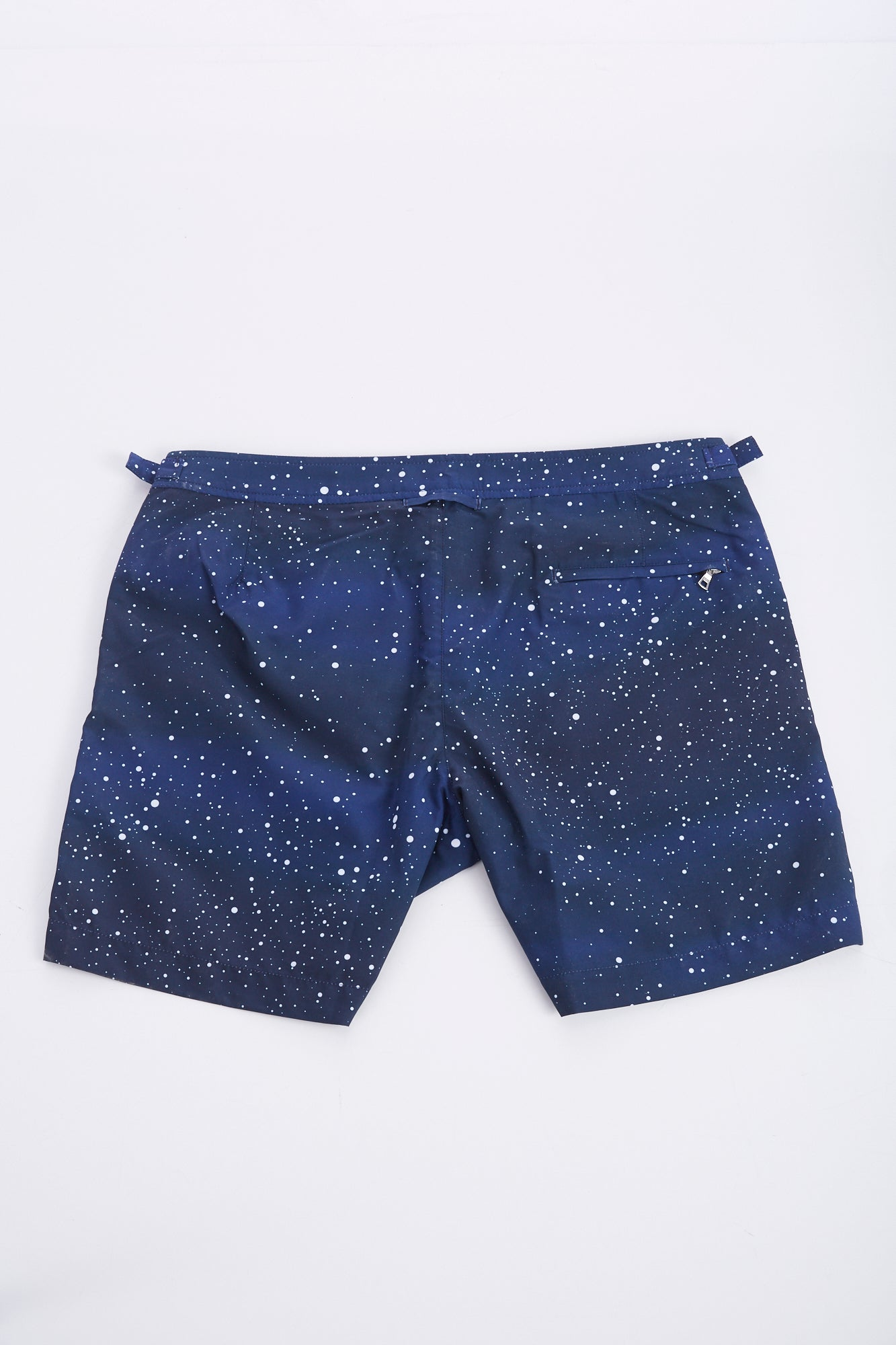 Orlebar Brown 'Bulldog' Navy Constellation Swim Shorts Back