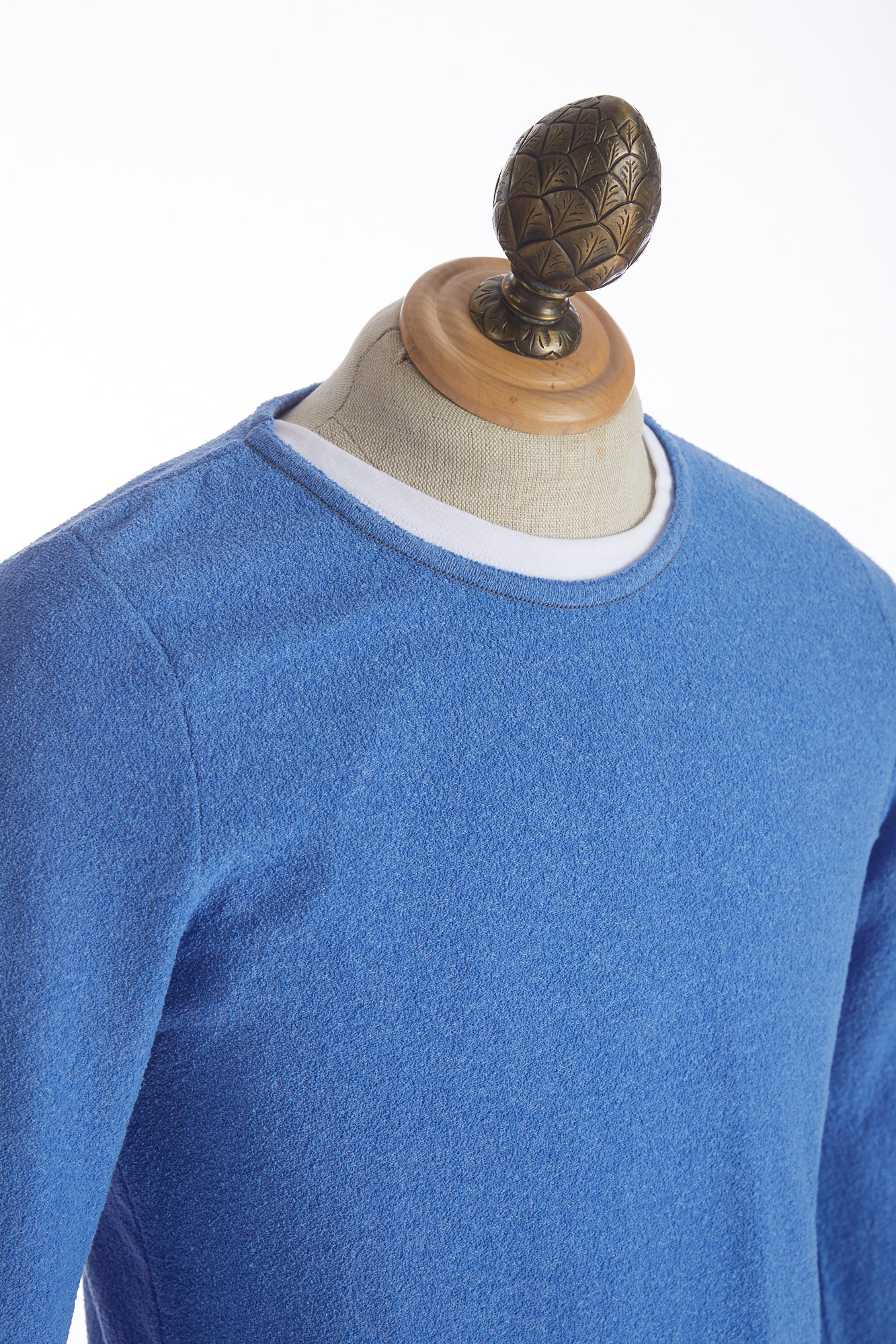 Phil Petter Baby Blue Crewneck Sweater