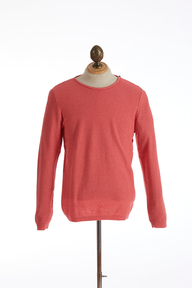Phil Petter Coral Terry Crewneck Sweater