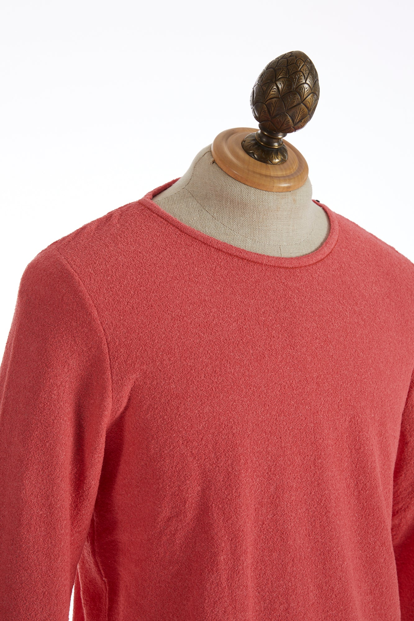 Phil Petter Coral Terry Crewneck Sweater Side
