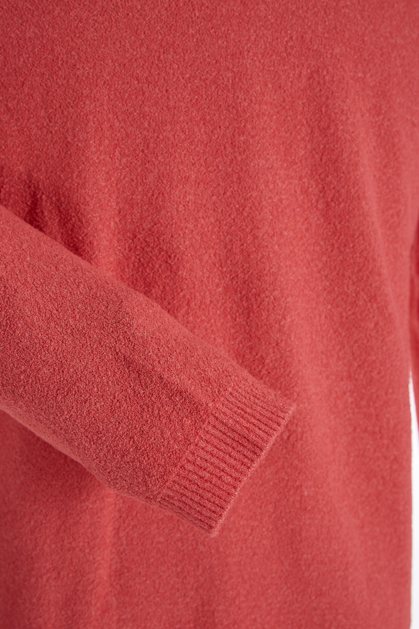Phil Petter Coral Terry Crewneck Sweater Sleeve