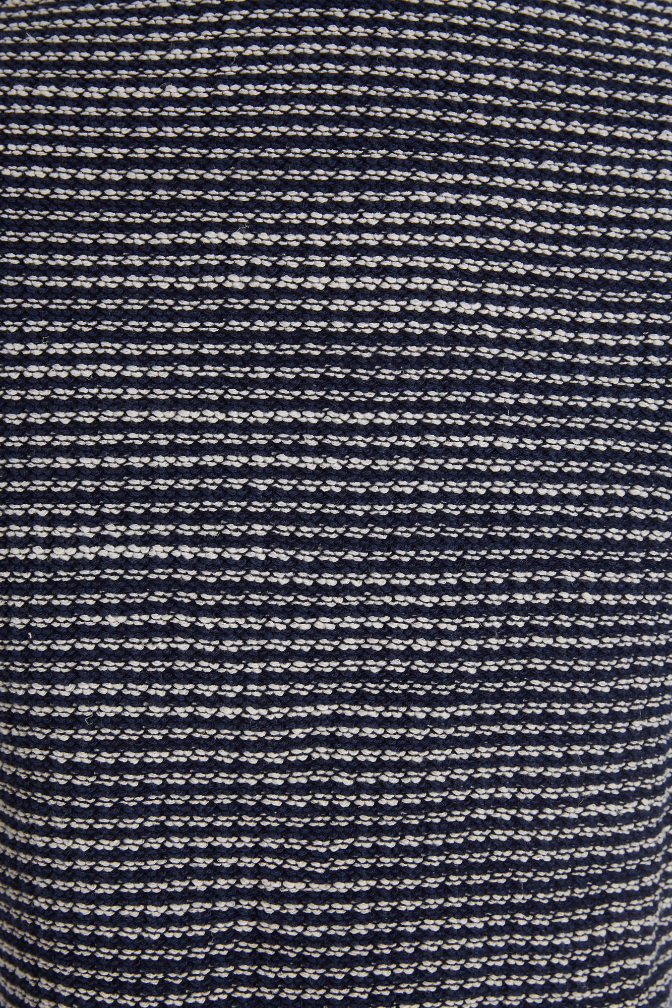 Phil Petter Navy Roped Cotton Stretch Fabric