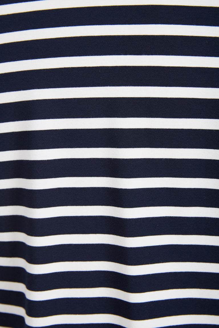 Phil Petter Navy Striped Jersey