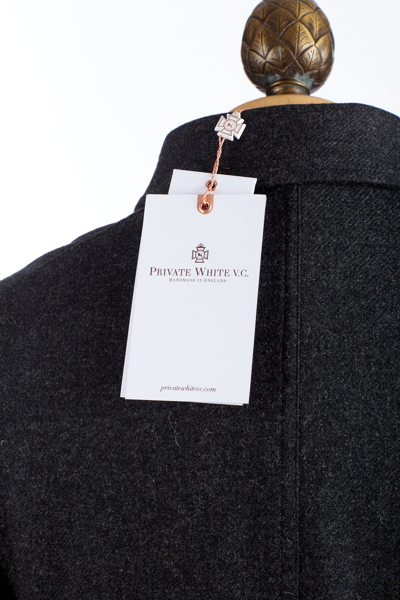 Private White V.C. Brand Tag