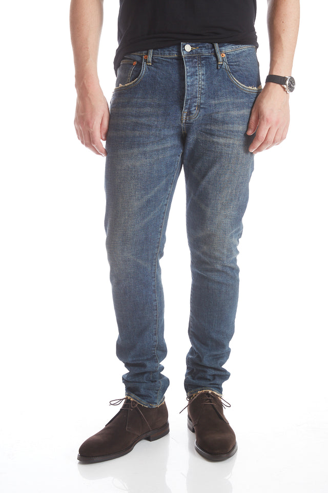 Purple Brand P001 3 Year Wash Blue Jeans