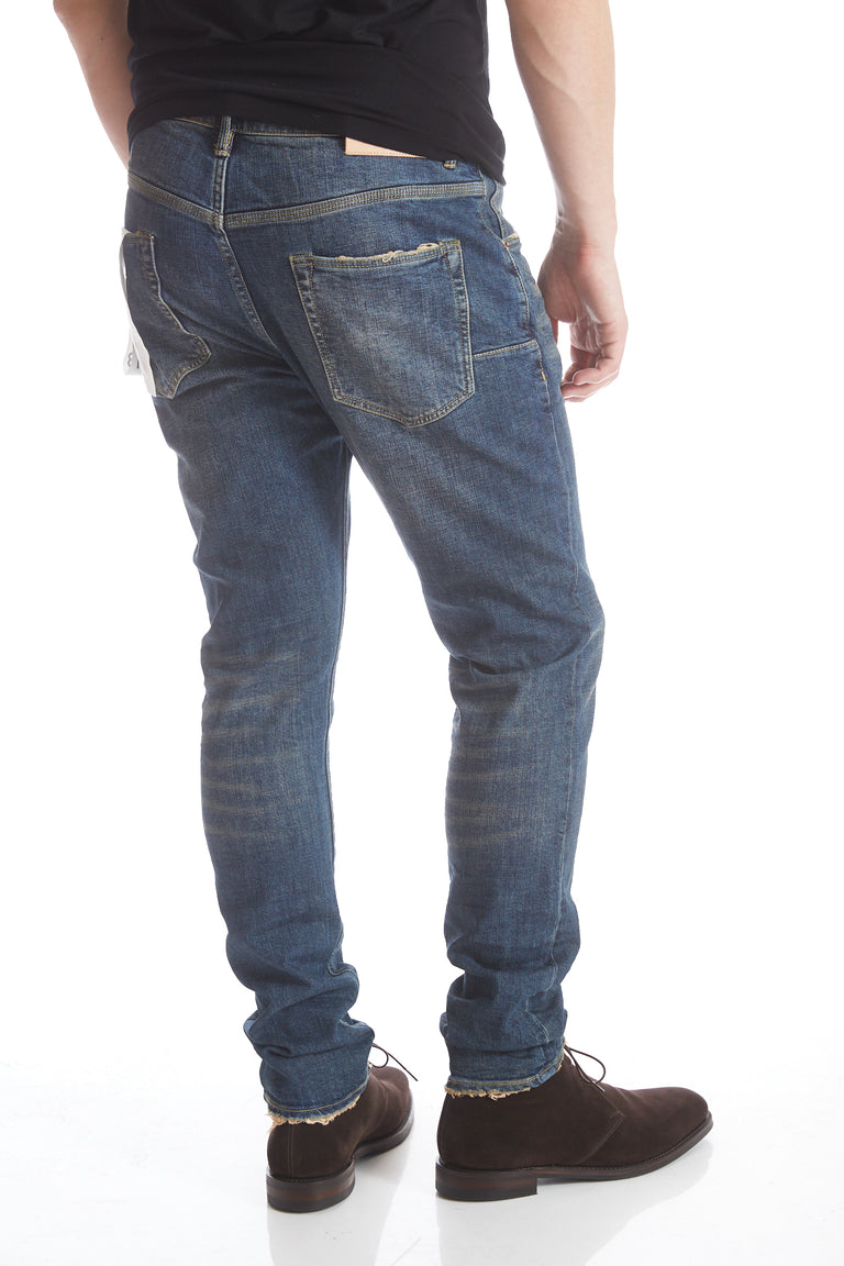 Purple Brand P001 3 Year Washed Blue Jeans