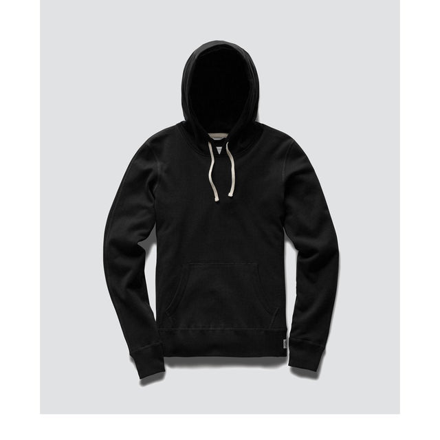 Reigning Champ Lightweight Black Terry Hoodie Pullover - WOMENS
