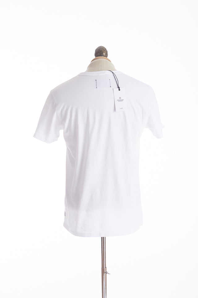 Reigning Champ Big Logo White T-Shirt Back