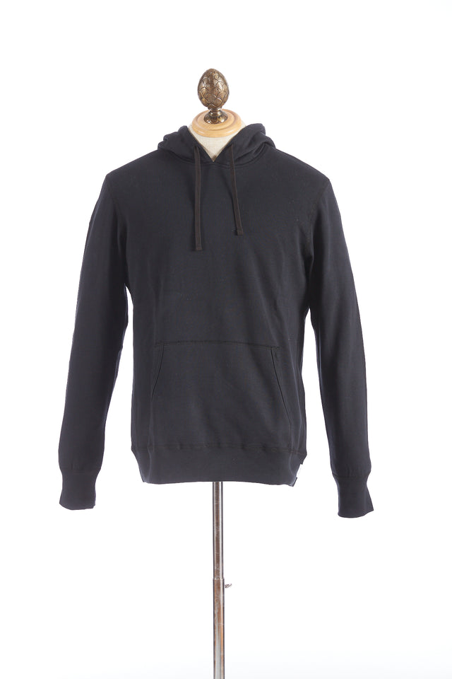 Reigning Champ Black Terry Hoodie Pullover